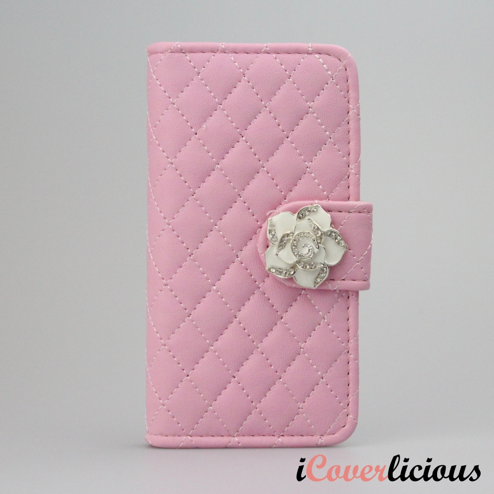 Pink Diamond Rose Wallet