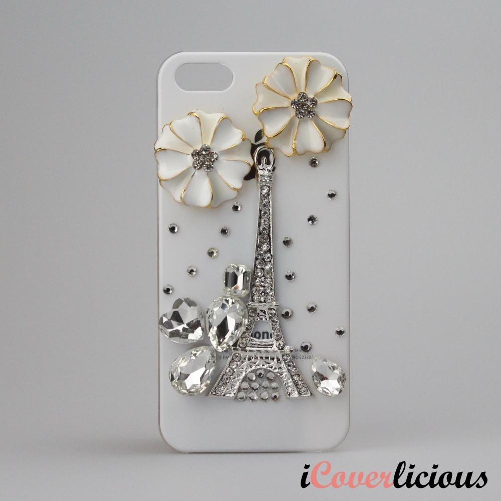 Silver Eiffeltower Cover