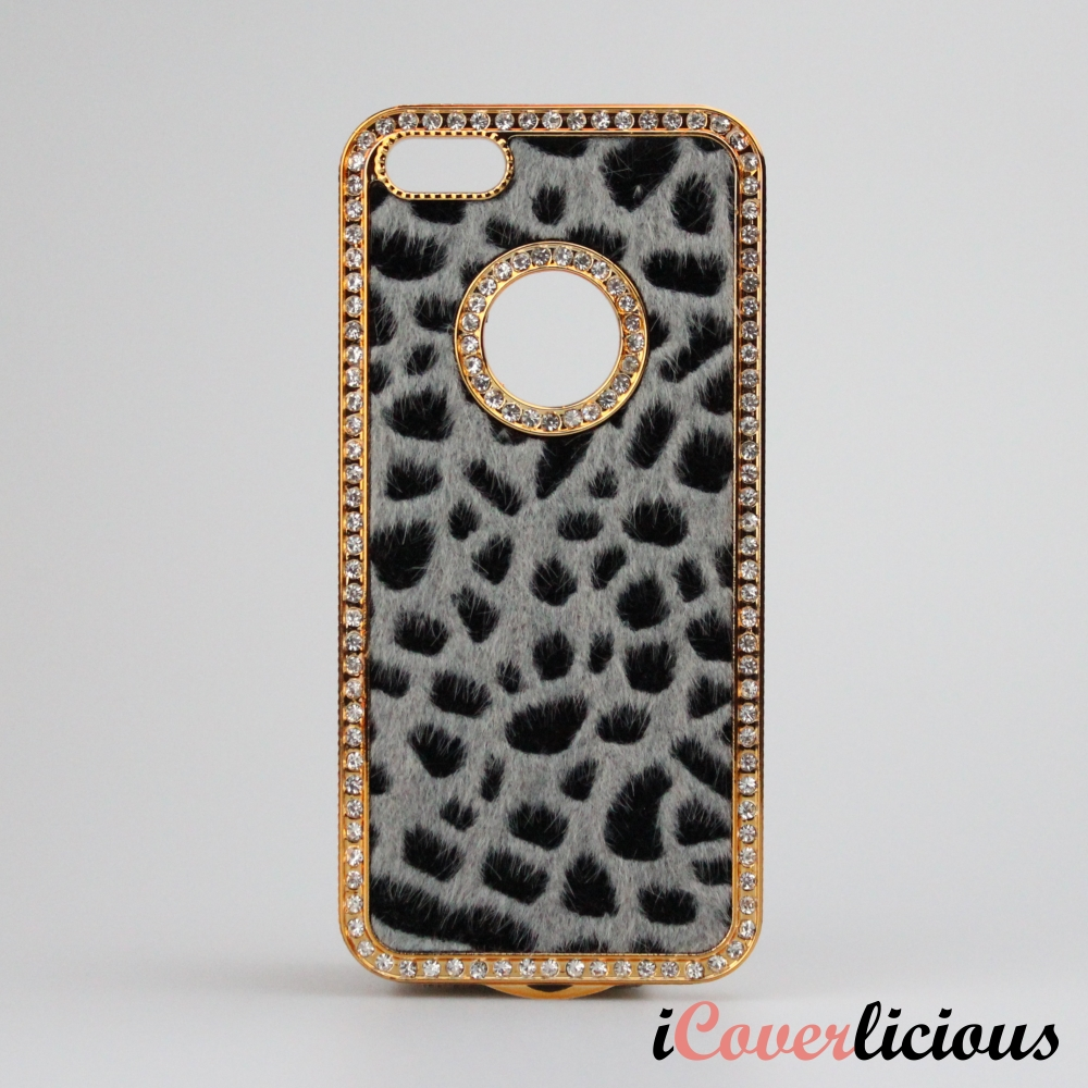 Grey Leopard Gold Cover