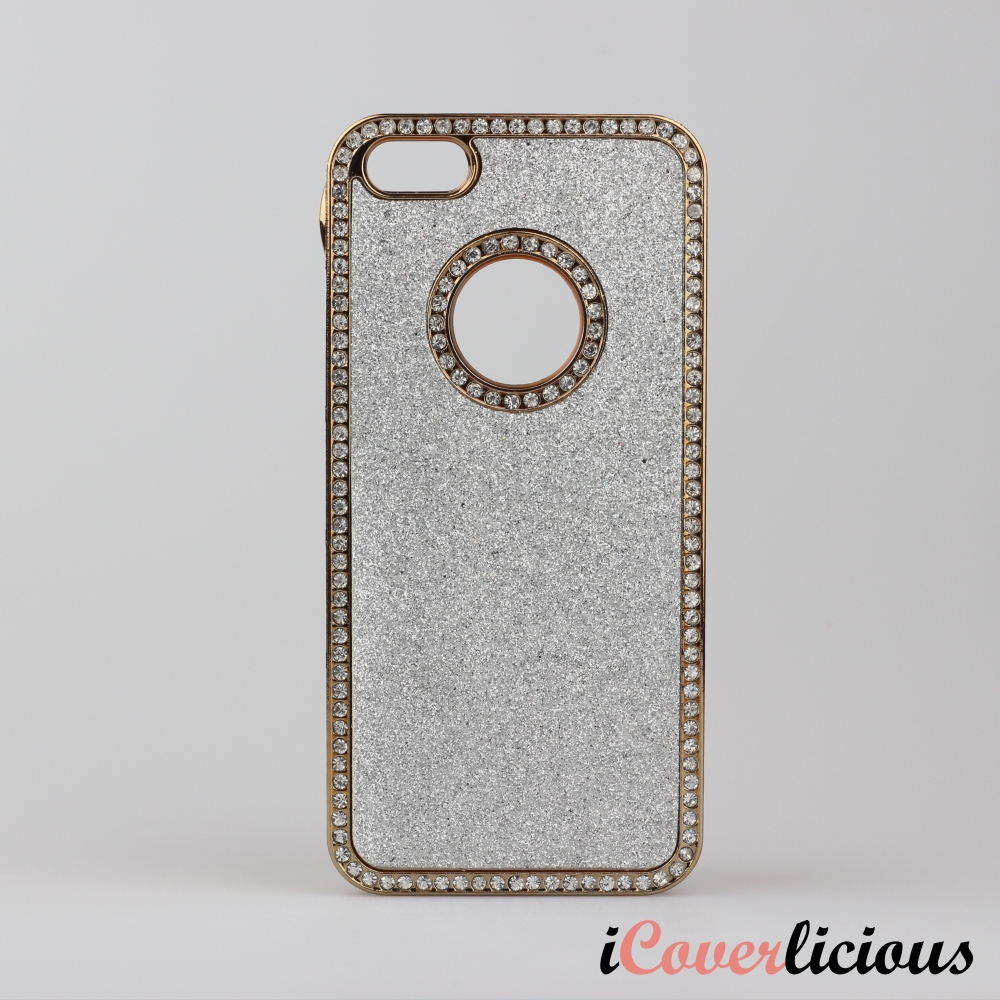 White Simili Diamond Cover