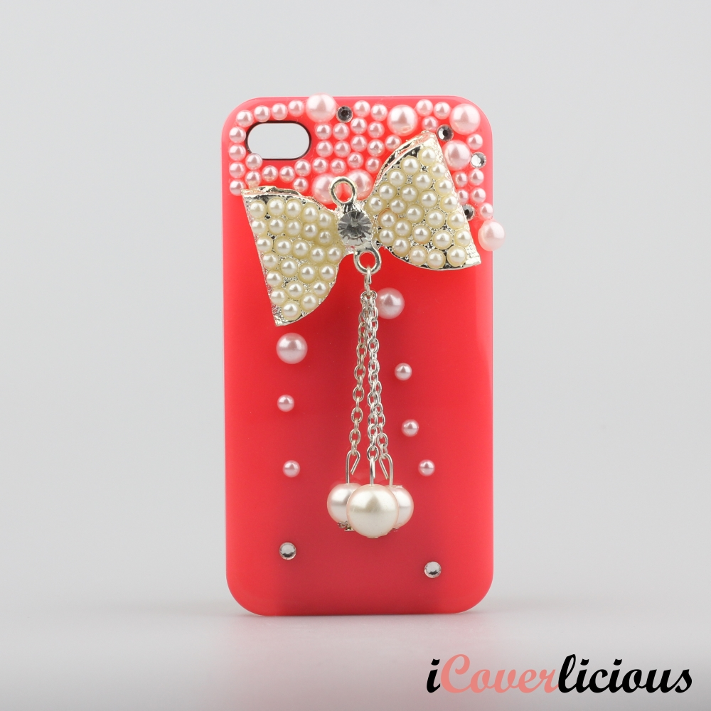 Red Bow Pearl Cover