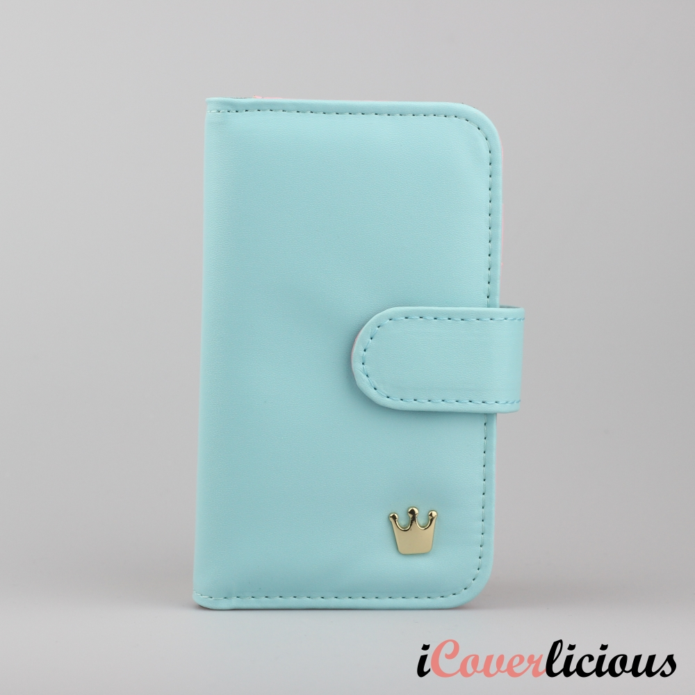 Turquoise Crown Wallet